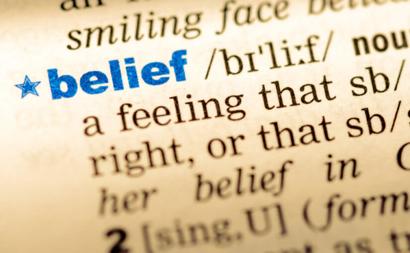 The importance of belief